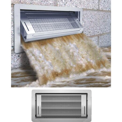 Smart Vent 8 In. x 16 In. Dual Function Automatic Foundation Vent