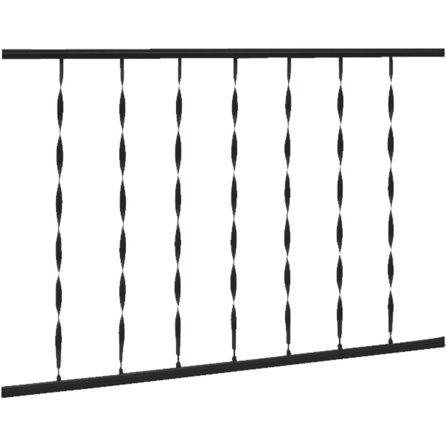 Gilpin Windsor 32 In. H. x 6 Ft. L. Wrought Iron Railing Image 1
