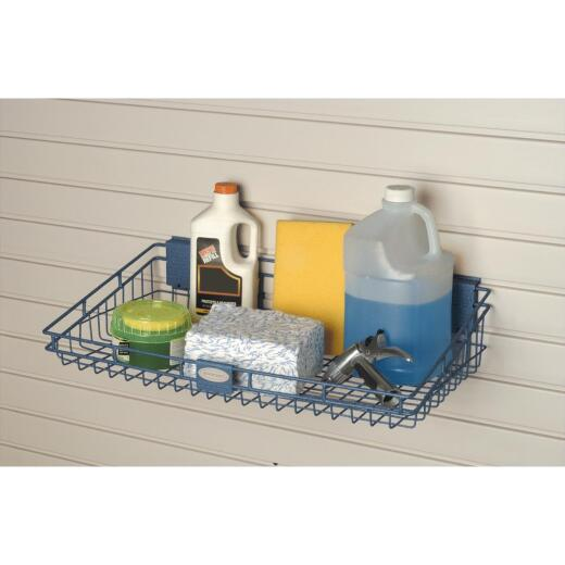 Suncast 12 In. x 24 In. Slatwall Wire Basket
