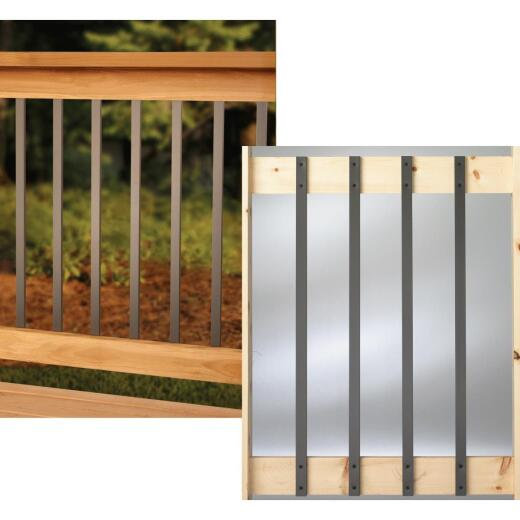 Deckorators 32 In. Bronze Aluminum Traditional Baluster (10-Pack)