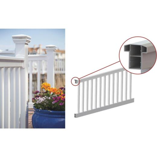RDI Finyl Line 36 In. H. x 8 Ft. L. Vinyl Railing