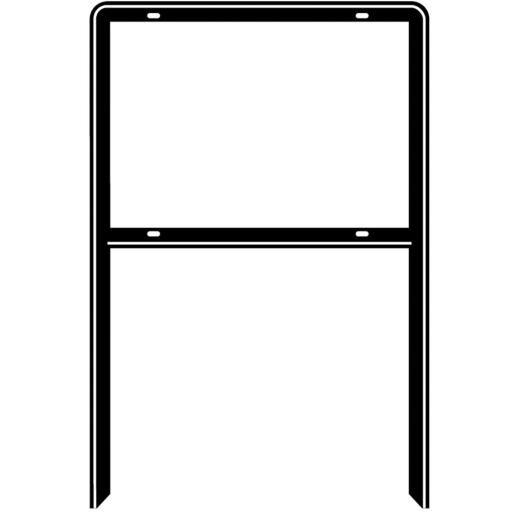 Hy-Ko  Steel Heavy Duty Open Sign Frame