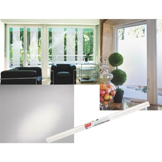 D-C-Fix 26 In. x 59 In. Frosted Static Window Film
