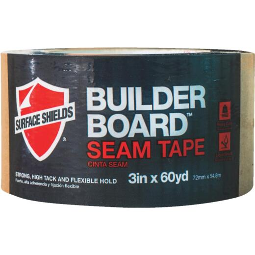 Surface Shields 3 In. x 180 Ft. Builder Board Tape