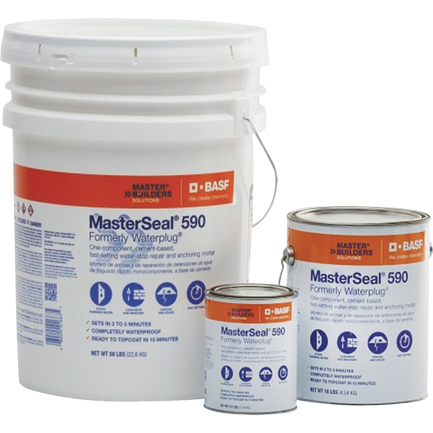 MasterSeal 590 50 Lb. Hydraulic Cement Image 2