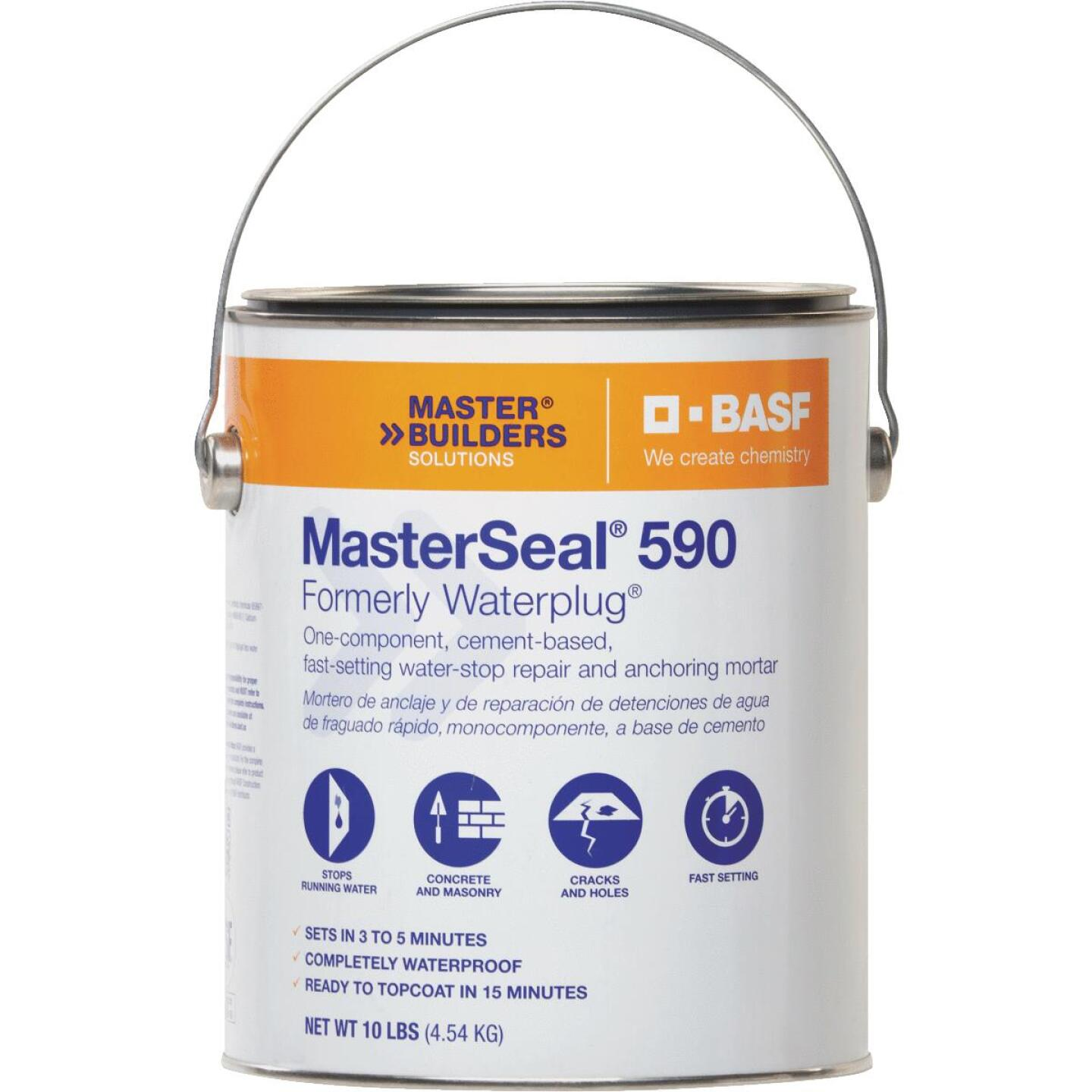 MasterSeal 590 10 Lb. Hydraulic Cement Image 1