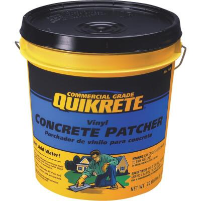 Quikrete 20 Lb Ready-to-Use, Gray Concrete Patch