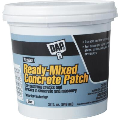 Dap Bondex 1 Qt Pre Mixed Gray Concrete Patch