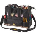 CLC 25-Pocket 16 In. Tool Bag with Top Side Tray Image 1
