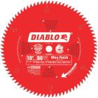 Diablo 10 In. 80-Tooth Ultra Finish Circular Saw Blade Image 1
