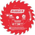 Diablo 4-1/2 In. 24-Tooth Framing Circular Saw Blade Image 1