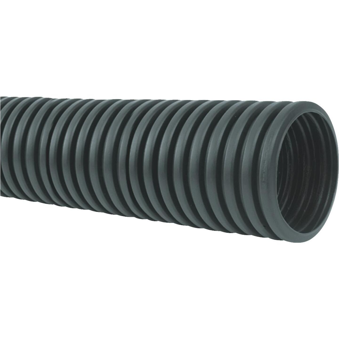 Advanced Basement 3 In. X 10 Ft. Polyethylene Corrugated Solid Pipe Image 1