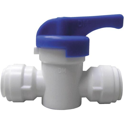 Watts 3/8 In. OD Straight Stop Plastic Plastic Push Valve
