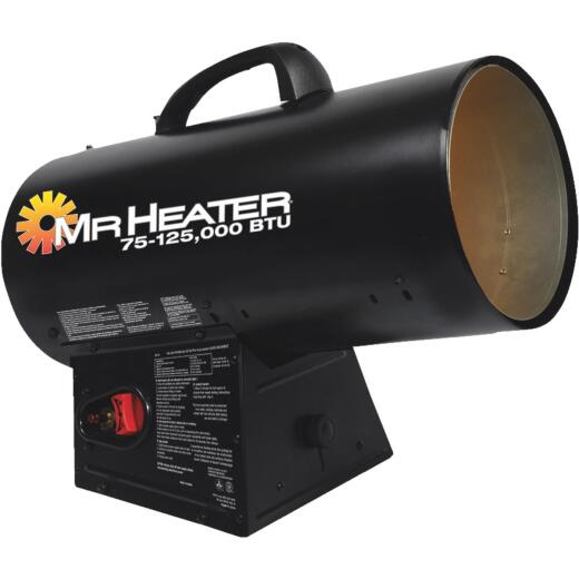 MR. HEATER 75-125,000 BTU Propane QBT Forced Air Heater