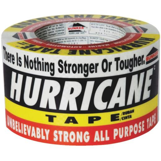 Bunker Hurricane Heavy-Duty Tape, 3 In. x 60 Yd.