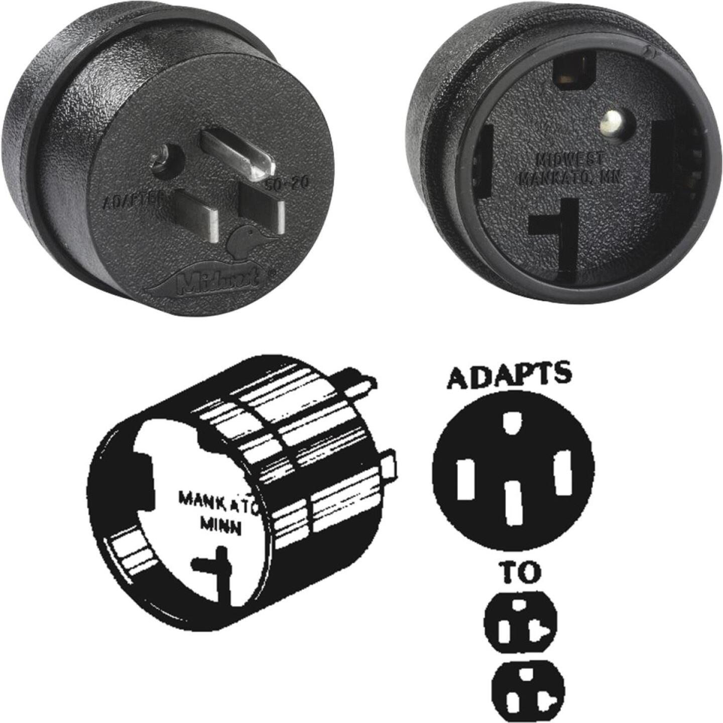 GE 50A to 15/20A Mobile Home/Motor Home Adapter Image 1
