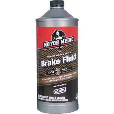 MotorMedic 32 Oz. Super Heavy-Duty DOT 3 Brake Fluid