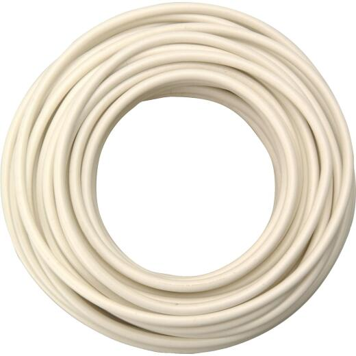 ROAD POWER 7 Ft. 10 Ga. PVC-Coated Primary Wire, White