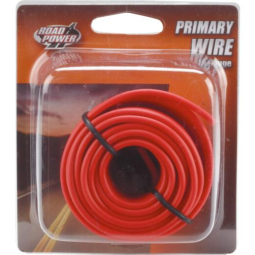 ROAD POWER 24 Ft. 16 Ga. PVC-Coated Primary Wire, Red
