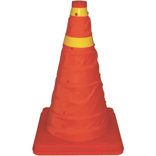 Bell 16 In. H Orange Collapsible Safety Cone