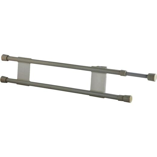 Camco Extends 16 In. to 28 In. White Refrigerator RV Storage Bar