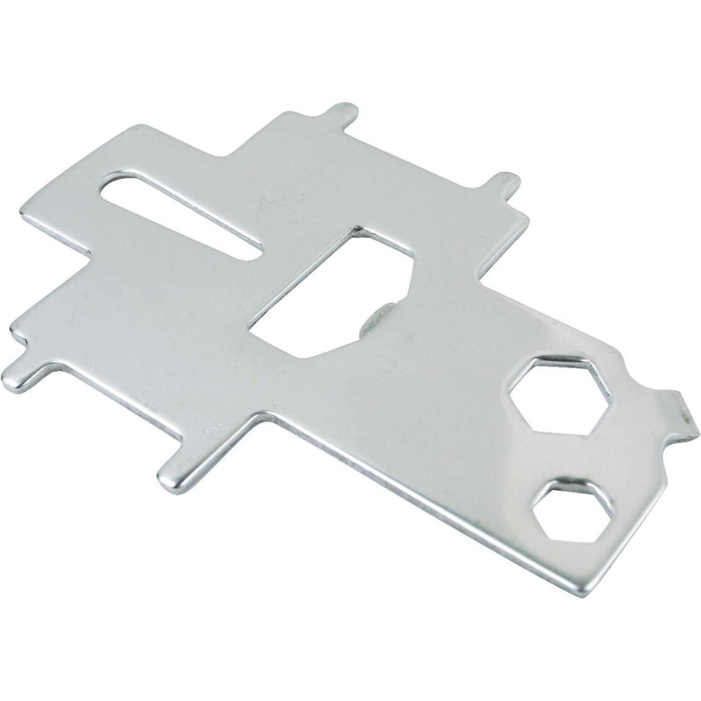 Seachoice Non-Magnetic Stainless Steel 3-7/8 In. Deck Plate Key & Tool Image 1