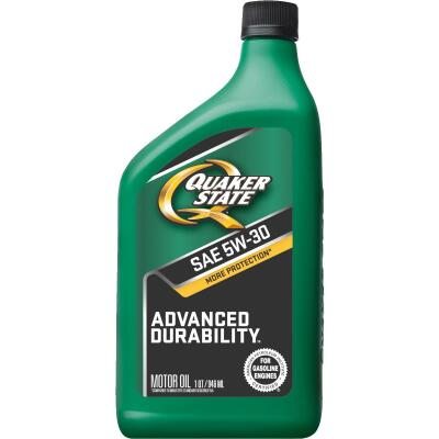 Quaker State Advanced Durability 5W30 Quart Motor Oil