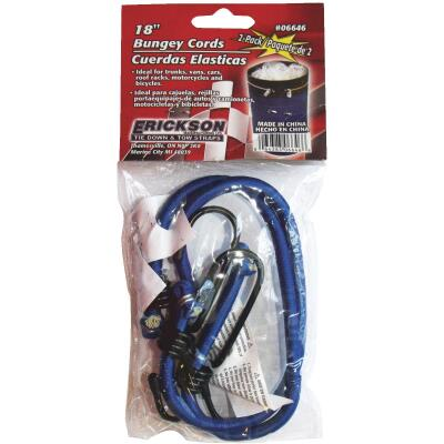 "Erickson 8mm x18"" Vinyl Coated Steel Bungee Cord Set"