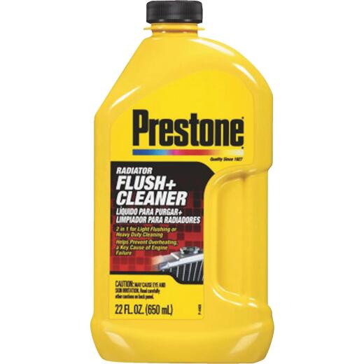 Prestone One-Step Process 22 fl oz  Radiator Flush