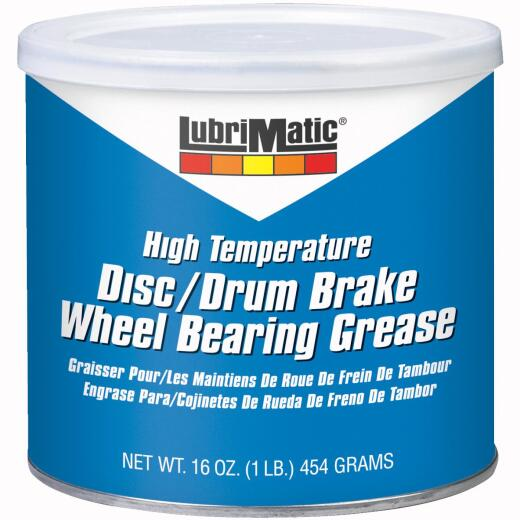 LubriMatic 1 Lb. Can Disc & Drum Brake, High-Temperature Wheel Bearing Grease