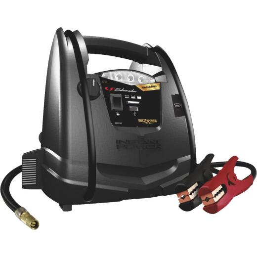 Schumacher 800A Jump Start System and Air Compressor