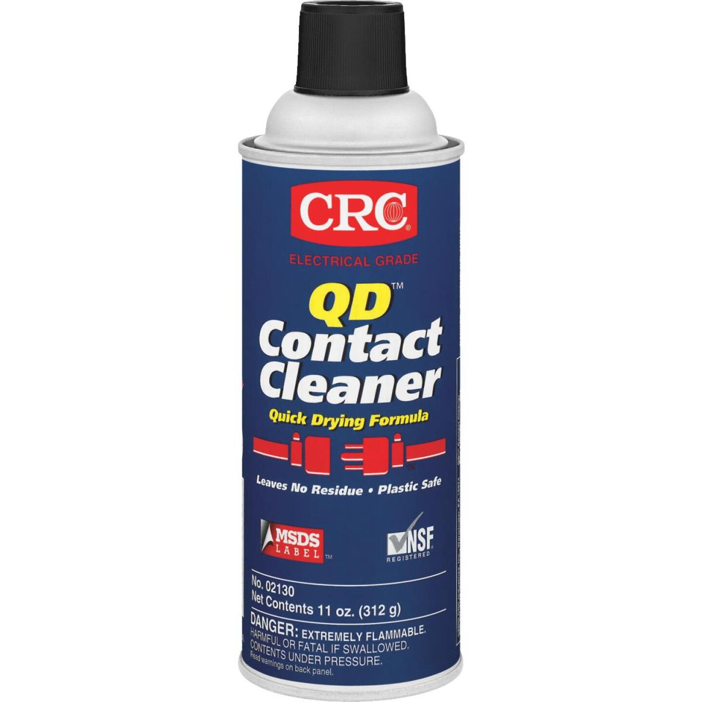 Crc Qd Electrical 11 Oz. Aerosol Electronic Parts Cleaner Image 1