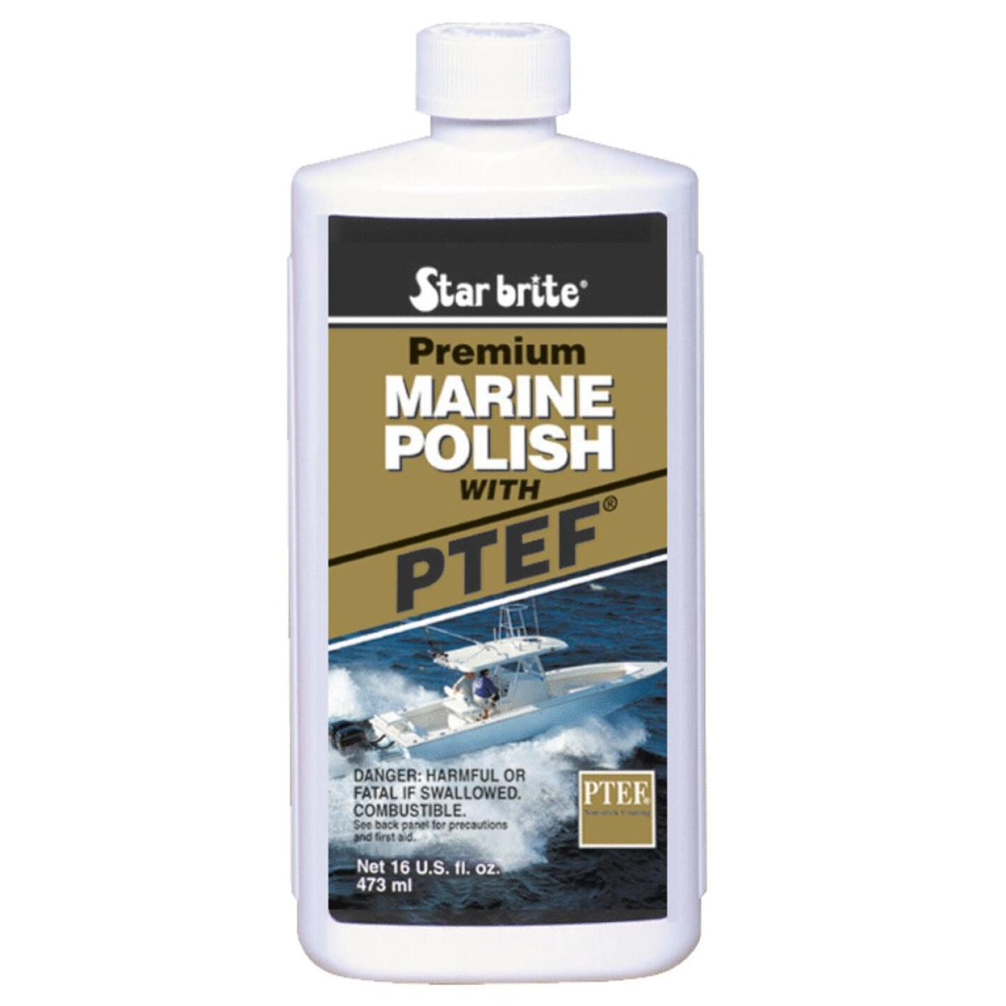 Starbrite 16 Oz. PTEF Boat Wax & Polish Image 1