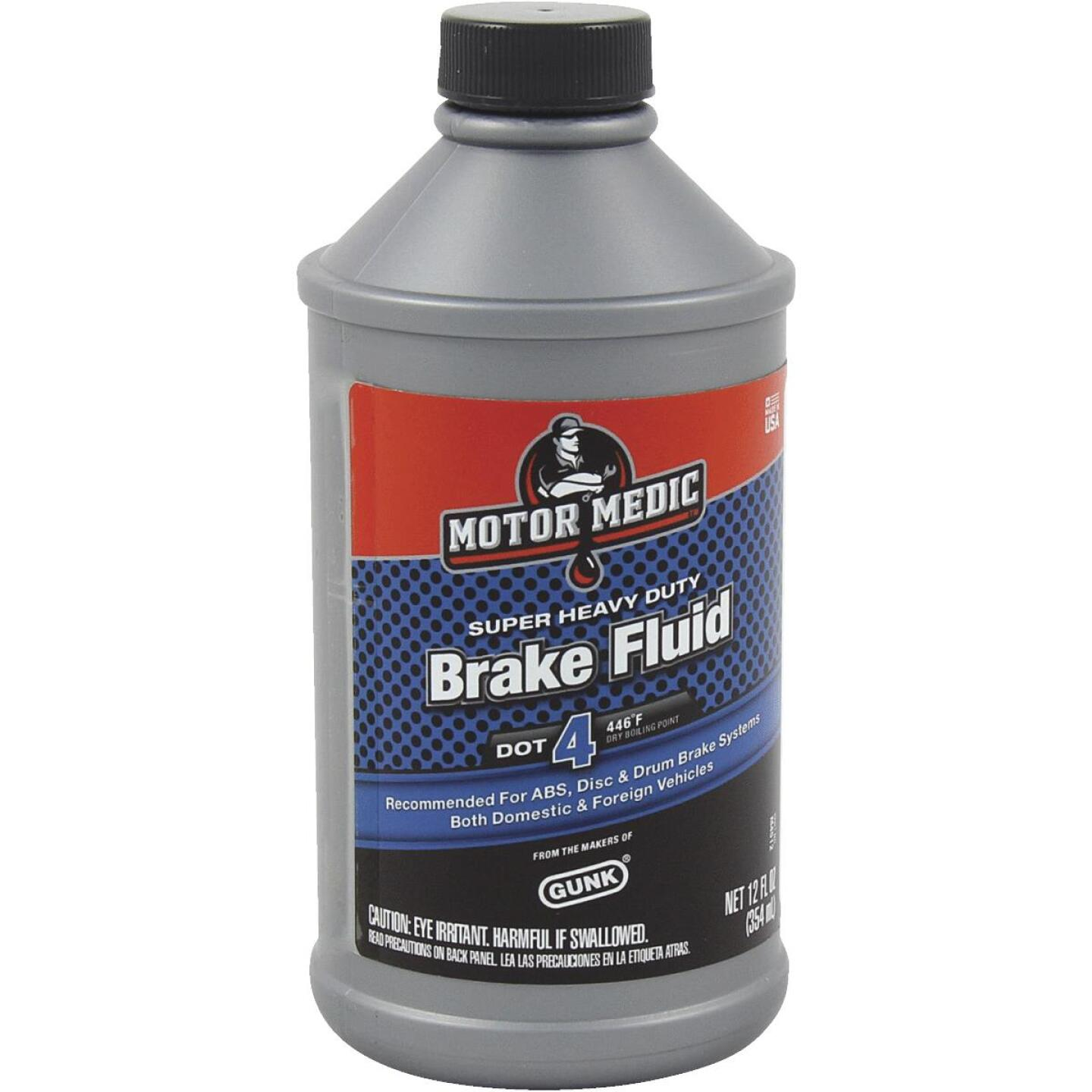 MotorMedic 12 Oz. Super Heavy-Duty DOT 4 Brake Fluid Image 1