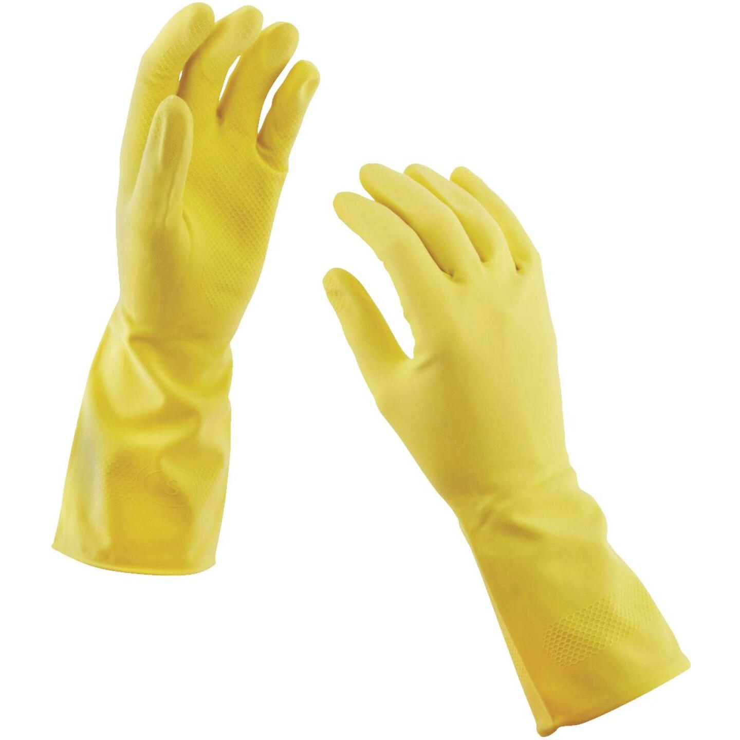 Soft Scrub Large Latex Rubber Glove (2-Pack) Image 2