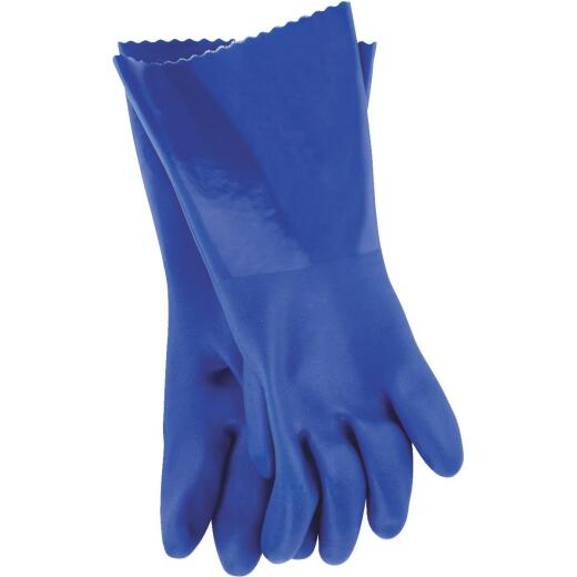 Working Hands Large PVC Coated Rubber Glove
