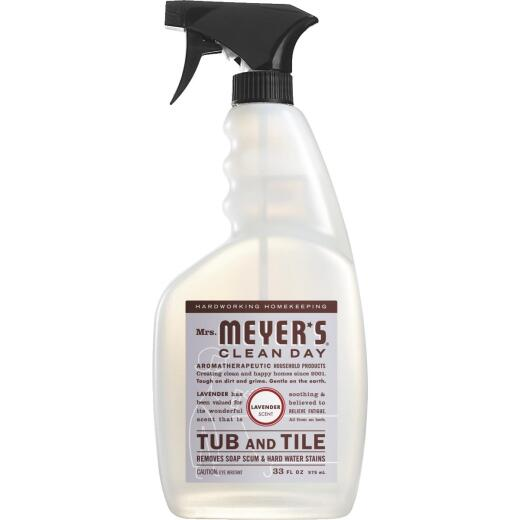 Mrs. Meyer's Clean Day 33 Oz. Lavender Tub & Tile Bathroom Cleaner