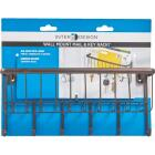 InterDesign York Lyra Wall Mount Mail Holder Key Rack Image 2