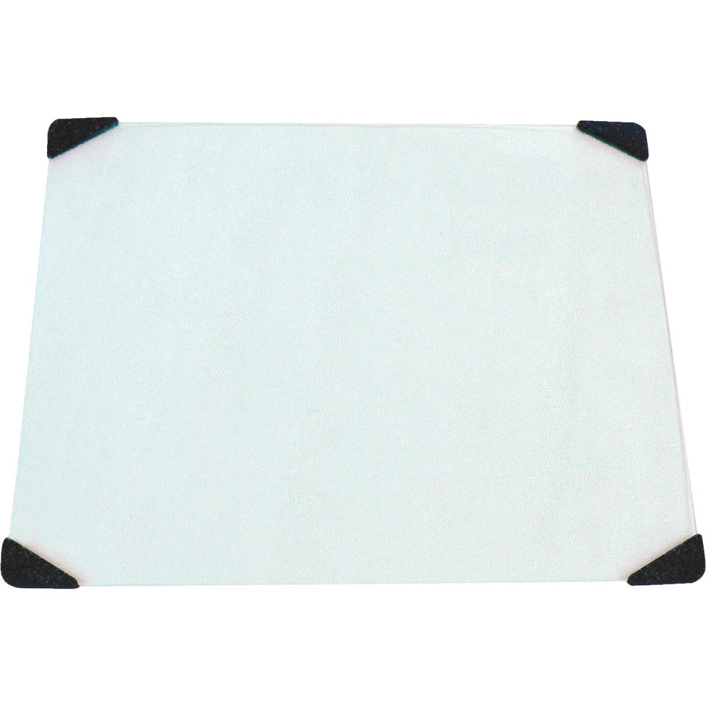 Grande Epicure 16 In. X 20 In. Tempered Glass Counter Saver Cutting Board Image 1
