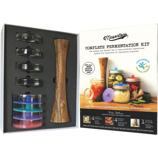 Masontops Fermentation Kit (9-Piece)
