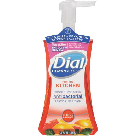 Dial Complete 7.5 Oz. Citrus Sunburst Kitchen Foaming Hand Wash