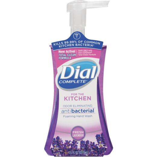 Dial Complete 7.5 Oz. Fresh Lavender Kitchen Foaming Hand Wash
