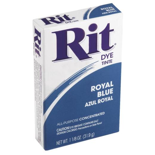 Rit Royal Blue 1-1/8 Oz. Powder Dye