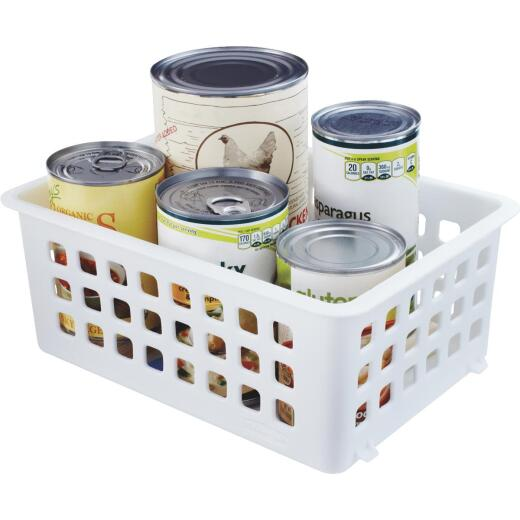 Rubbermaid Slide'N Stack Storage Basket