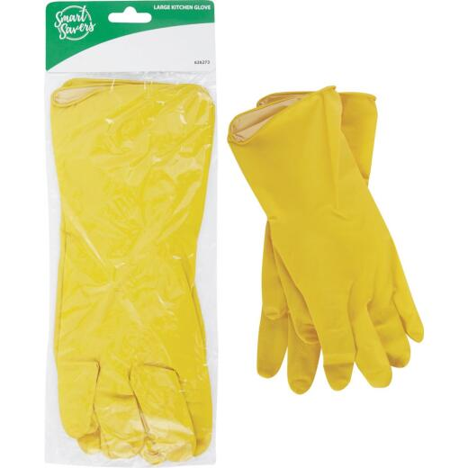 Smart Savers Large Kitchen Rubber Glove