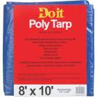 Do it Blue Woven 8 Ft. x 10 Ft. Medium Duty Poly Tarp Image 1
