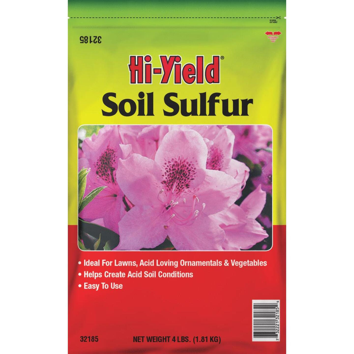Hi-Yield 4 Lb. 400 Ft. Coverage Soil Sulfur Image 1