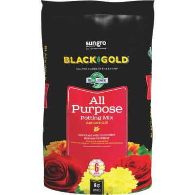 Black Gold 16 Qt. 12-1/2 Lb. All Purpose Potting Soil