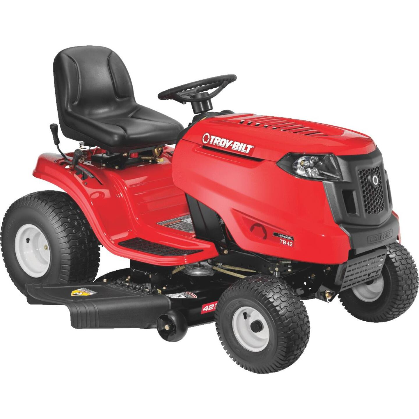 Troy-Bilt 42 In. 547cc Troy-Bilt Single Cylinder Automatic Lawn Tractor Image 1