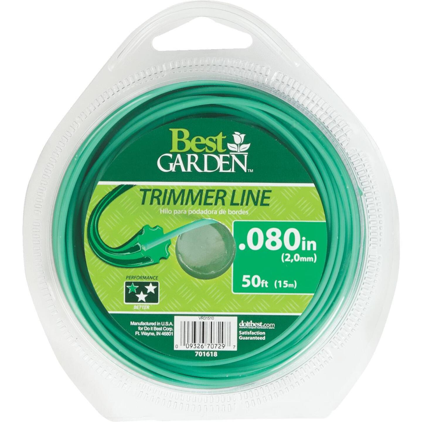 Best Garden 0.080 In. x 50 Ft. Round Trimmer Line Image 1